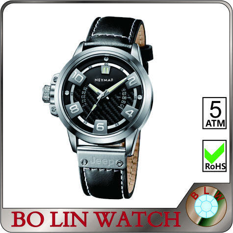 left crown watch, private label watch, professional watch