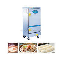 ZXY20-12 gas rice steamer with 12 containers for chinese dumpling cooker