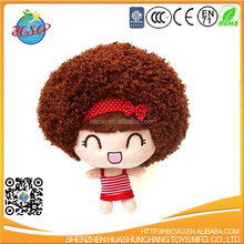 cartoon character plush doll