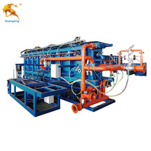 Full-auto eps foam panel foamed board production line and plastic block making machine