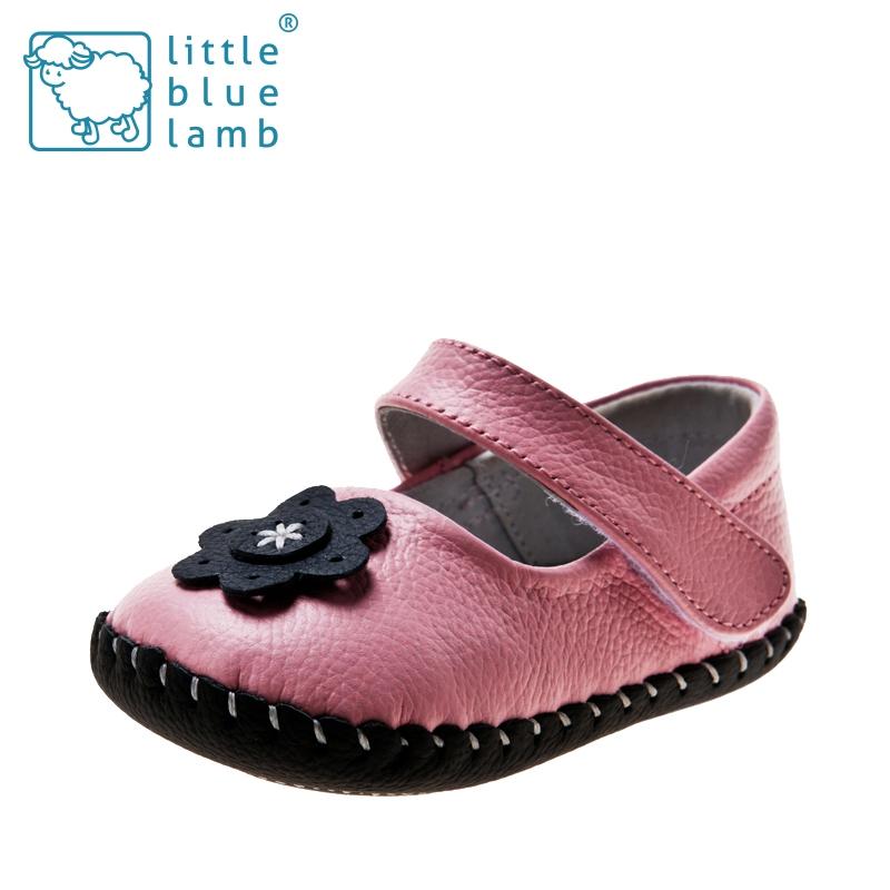 2016 littlebluelamb infant soft leather baby shoes toddler