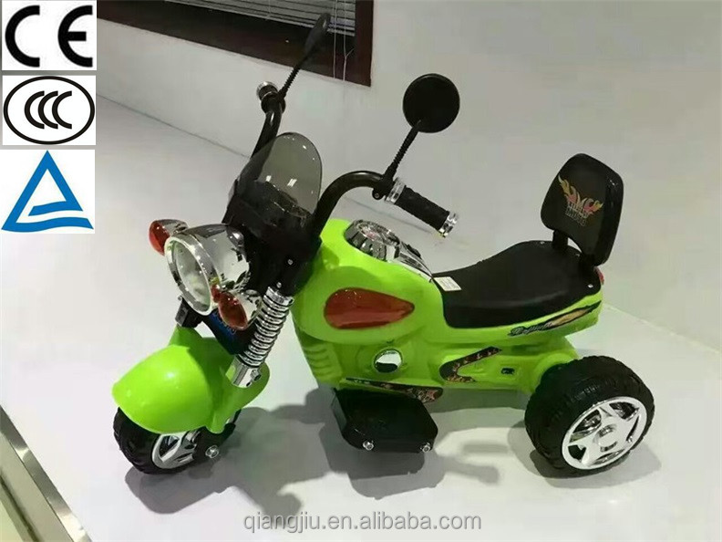 Three wheel electric motorcycle cars for big kids