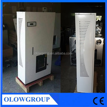 Automatic feed indoor smokeless wood pellet boiler 24KW maize stalk pellet stove
