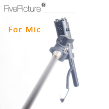 1.8m Aluminum Alloy Handheld Grip Rig Support Rod Flash Speedlite LED Light Microphone Boom Pole Holder