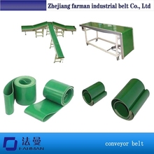 10mm Petrol Blue Smooth Top Pvc Conveyor Belt For Press Machine
