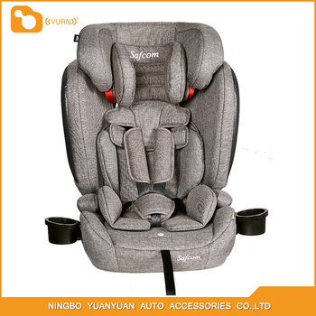 YY11 ECE R44/04 ISOFIX China Made safety car seat for Group1+2+3 (9-36kg ) baby use