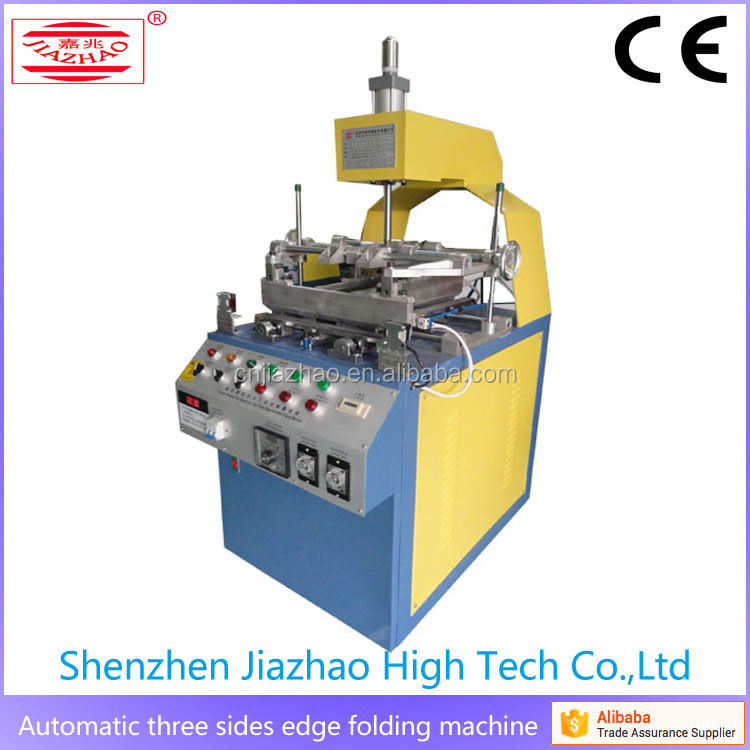 China Supplier Semi-auto Blister Edge Folding Machine used for plastic blister with CE