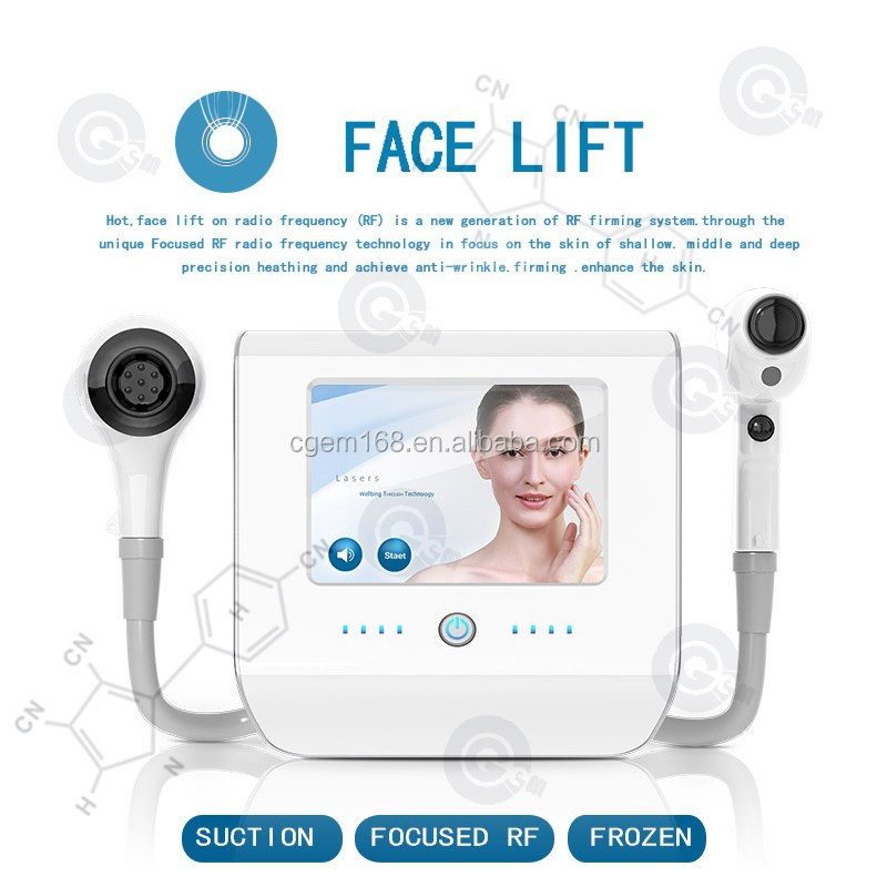 CG-020 multifunctional portable cooling vacuum thermolift 7 polars rf face lift skin tightening machine