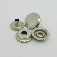 Factory price four parts metal nickel magnetic clothes snap button