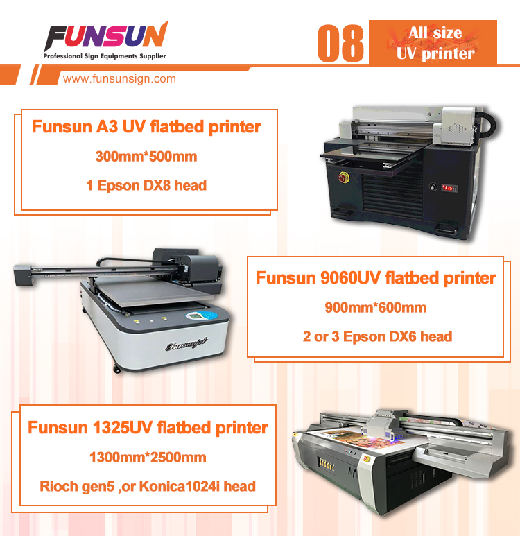 Funsunjet A3 UV cd dvd printer