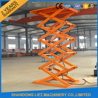 5ton heavy duty warehouse hydraulic lift elevator drawing