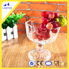 10oz Superior Quality Crystal Clear Glassware Wholesale for Ice Cream/ Fruit