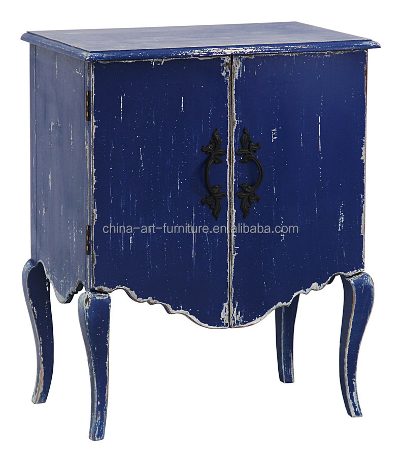 Exotic <strong>style</strong> color cabinet for Living room or bedroom, french wood bed side cabinet, <strong>antique</strong> night stands