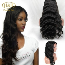 2016 New Arrived 100% Remy Human Hair Peruvian Virgin hair Full Lace Wig 180% Density Full Lace Wig