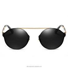 High Quality Metal Sunglasses With PC Lens New Stock In 2017