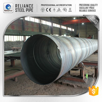 SPIRAL STEEL WATER PIPE LINE