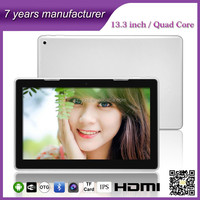 zxs-133 new products on china market 13.3 inch china export tablet pc android rohs factory