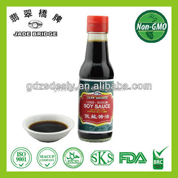 NON-Store Selling Superior Low Salt Soy sauce with BRC