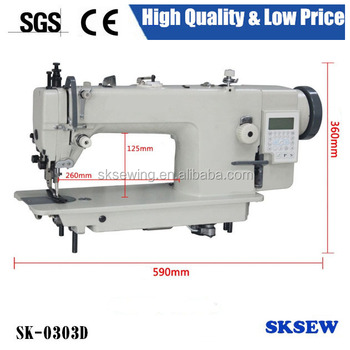 0303 automatic direct drive handbags making industrial sewing machine