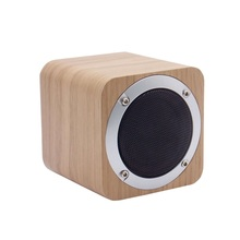 2017 Mini Portable Real Wood Bluetooth Speaker With Super Bass Sound