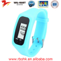 2016 New product smart Silicone & ABS watch bracelet pedometer