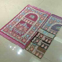 customized muslim prayer mat with qibla finder for sale