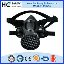 face protective industrial silicone costume half face gas mask