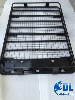 car roof rack 4x4 steel roof basket auto parts