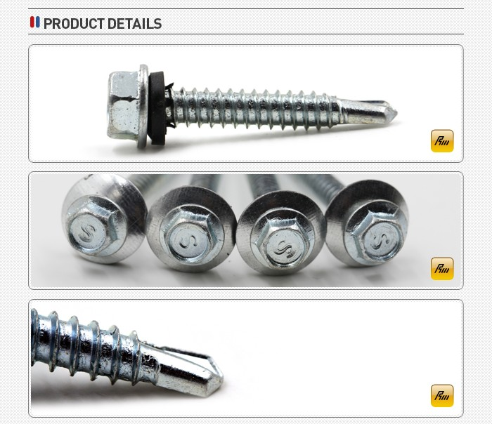 Brand new pan phillips wafer flat head self drilling screw for wholesales