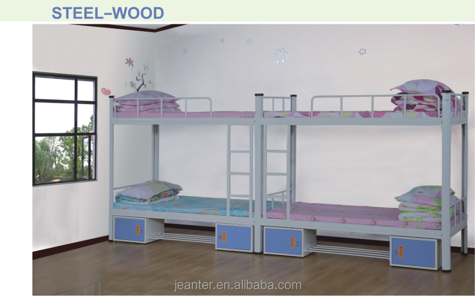 Top Selling Bunk Bed For Kids, single steel bed designs, stainless steel king bed frame