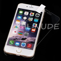 Newest design Nude series ultra thin tempered glass screen protector film for iphone 6 4.7 with pc cover