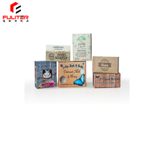 OEM New Style Elegant Hand Make Shower Handmade Soap Box Packaging