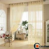 Sheer lace fabric beautiful crochet eyelets curtains