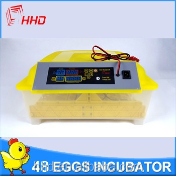 98% hatching rate Factory supplied Full automatic 96 chicken egg incubator for sale YZ-96 CE approved
