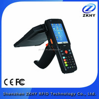 Factory Price Android Wireless Passive Portable Long Range UHF RFID Handheld Reader with Barcode Scanner