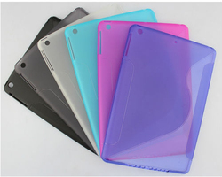 Gel Soft S Line TPU Case for iPad Air cover for iPad 5 Mix color