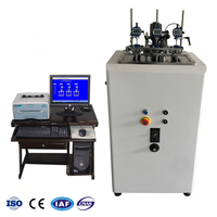 Computer Servo Vicat Softening Point Test Machine for Plastic Rubber PVC