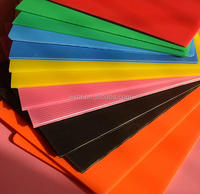 2mm-4mm yellow green black white PP sheet