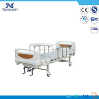 YXZ-C-018B Latest Design Two cranks Manual Hospital Bed,Home Use Care Bed