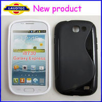 New product mobile phone case, S-Line TPU Gel case for Samsung Galaxy Express i8730 from Laudtec, made in china