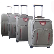 factory classic style big lots luggage EVA 3 wheels large 4pcs luggage suitcase