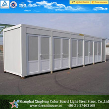 movable trailer toilet/container public restroom with light weight/cheap prefab mobile portable public shipping container toilet