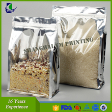 Laminated Stand Up Aluminum Foil High Moisture Barrier Packaging Bags