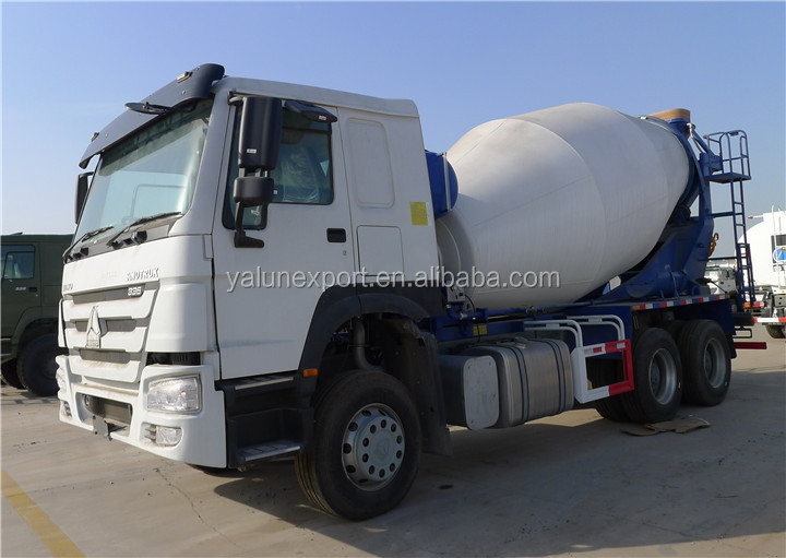 Best price HOWO mixer truck 6x4 concrete mixer truck 10Cubes for sale