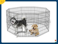 36 Tall Dog Playpen Crate Fence Pet Play Pen Exercise Cage W/ 8 Panel