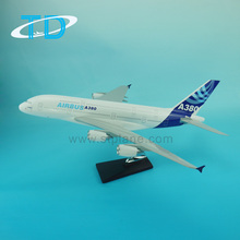 Model plane A380 scale 1:150 47cm handmade craft