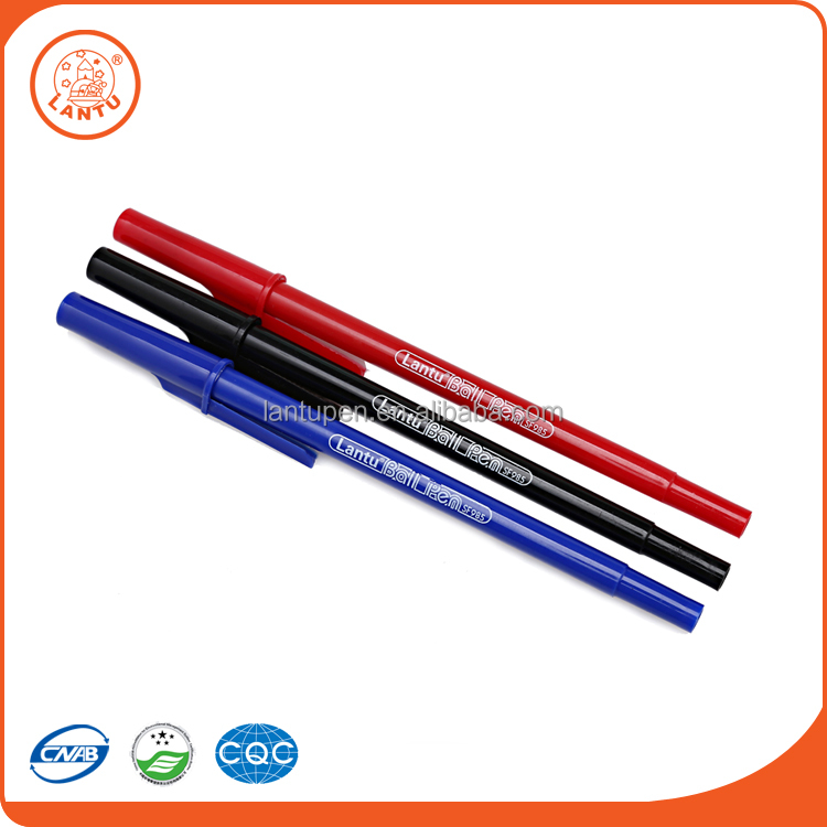 Lantu Hot Selling Promotional Customized Plastic Advertising Ballpoint Pen