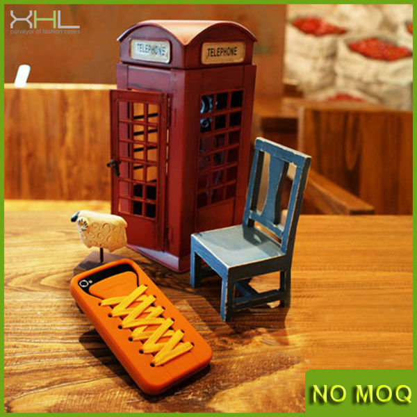 2014 New HOT Shoes Silicon Case for Iphone 5/5s