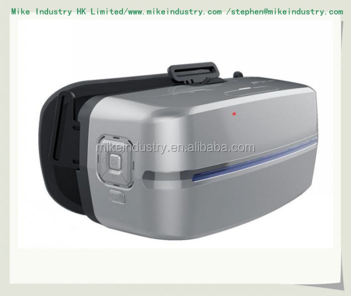 201 NEW 3RD GEN 3D VR BOX 2.0 GOOGLE CARDBOARD VIRTUAL REALITY GLASSES HEADSET + REMOTE PALSTIC INJECION MOULD SHELL