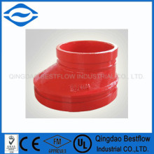 FM/UL grooved pipe fittings for fire fighting